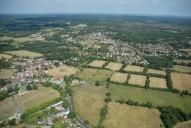 Aerial photograph of Chobham