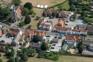 Aerial photograph of Chobham village centre