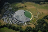 Aerial photograph of McLaren HQ