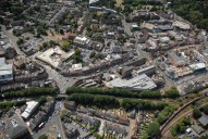 Aerial photograph of Epsom