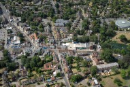 Aerial photograph of Ewell