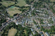 Aerial photograph of Reigate