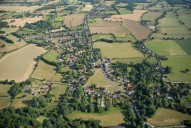 Aerial photograph of Brockham