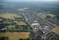 Aerial photograph of Old Woking