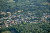 Aerial photograph of Brookwood
