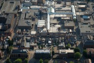 Aerial photograph of Camberley town centre