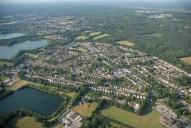 Aerial photograph of Mytchett