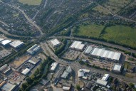 Aerial photograph of Outskirts of Guildford