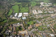 Aerial photograph of Outskirts of Leatherhead