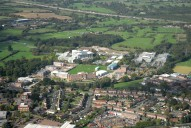 Aerial photograph of View over north of Leatherhead