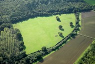 Aerial photograph of Field north of Bookham