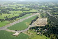 Aerial photograph of Wisley airfield (disused)