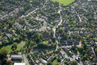 Aerial photograph of Horsell