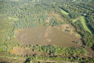 Aerial photograph of Common south of Brookwood