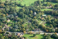 Aerial photograph of Worplesdon