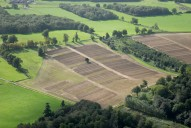 Aerial photograph of Fields south-west of Guildford