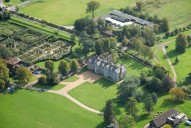 Aerial photograph of Loseley Park