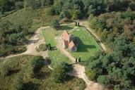 Aerial photograph of St Martha's Church
