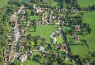 Aerial photograph of Albury