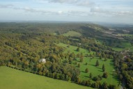 Aerial photograph of North Downs