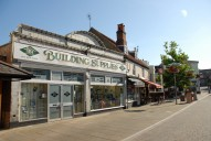 Building supplies shop, Leatherhead