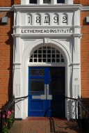 Leatherhead Institute entrance, Leatherhead