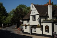 The Running Horse pub, Leatherhead