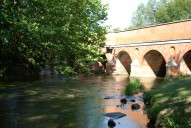 Bridge over River Mole, Leatherhead