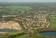 Aerial photograph of View towards Redhill from Nutfield