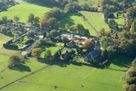 Aerial photograph of Church near Leatherhead