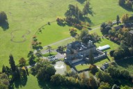 Aerial photograph of Horsley Towers