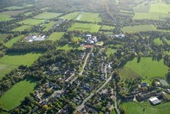 Aerial photograph of View south over West Horsley