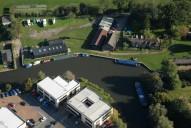 Aerial photograph of Dapdune Wharf, Guildford