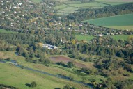 Aerial photograph of Shalford