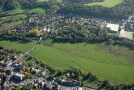 Aerial photograph of View to Godalming from Farncombe