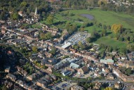 Aerial photograph of Godalming