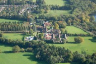 Aerial photograph of View south of Godalming