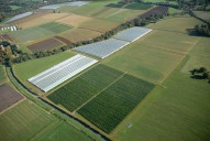 Aerial photograph of Fields near Milford