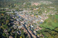 Aerial photograph of Haslemere