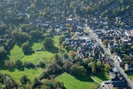 Aerial photograph of Haslemere town centre