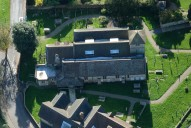 Aerial photograph of Church at Haslemere