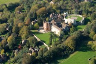 Aerial photograph of Farnham Castle