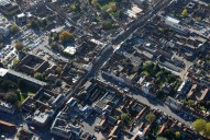 Aerial photograph of Farnham town centre