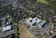 Aerial photograph of North-east of Farnham