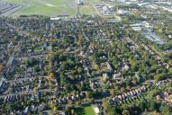 Aerial photograph of Farnborough outskirts (Hampshire)