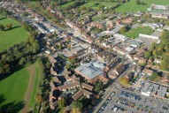 Aerial photograph of Cranleigh