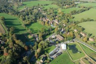 Aerial photograph of Abinger Hammer