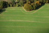 Aerial photograph of Field north of Reigate