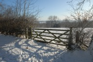 Gate, North Downs Way, Reigate