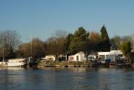 View across the Thames, Walton